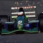 Michael Schumacher au grand prix de Belgique 1991