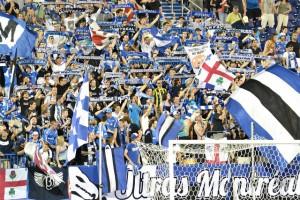 Les Ultras au Stade Saputo. - ultrasmontreal.com